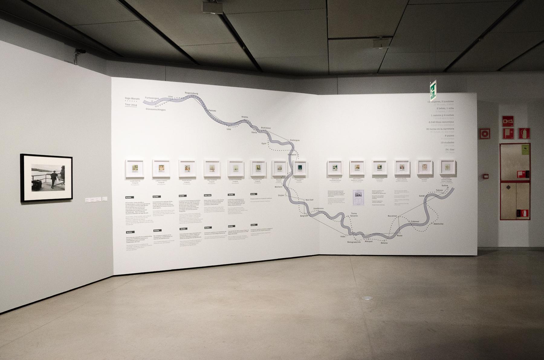 Exposición Tras los pasos de Inge Morath