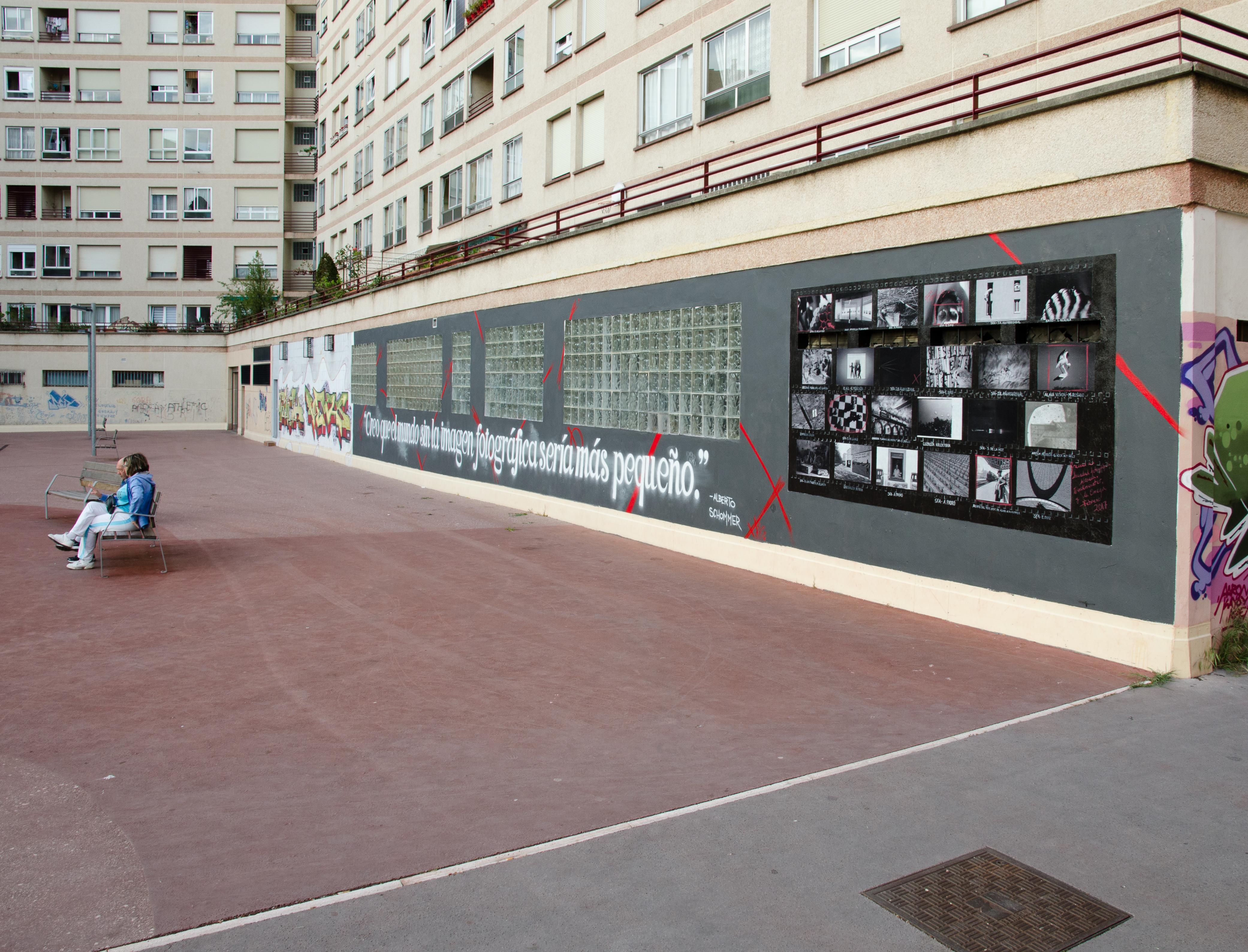 Mural fotográfico Vitoria- Gasteiz